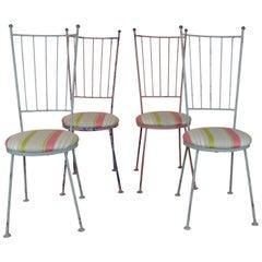 Iron Bistro Chairs