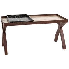 Iron Brown Coffee Table