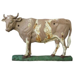 Iron Cow Trade Sign