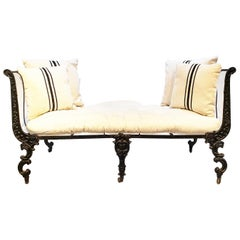 Iron Daybed, 19th Century