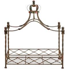 Iron Dog Bed