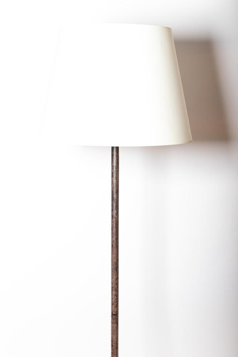 Vintage Iron Floor Lamp For Sale 4
