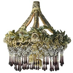Iron Flowers Chandelier