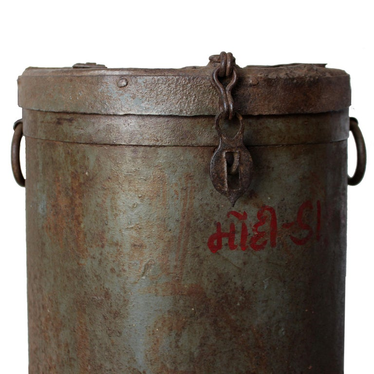 Indian Iron Grain Container For Sale