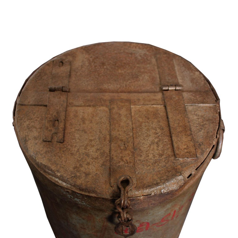 Iron Grain Container For Sale 2