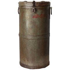 Iron Grain Container