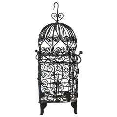 Iron Hanging Candle Lantern