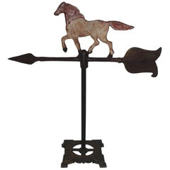 Iron Horse Weather Vane, Table Top