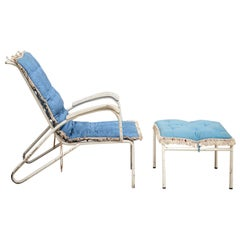 Iron Lounge Chair Inspired to Jean Prouvè