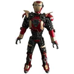 Iron Man Metal Sculpture
