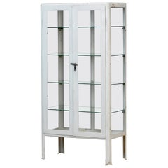 Iron Medical Cabinet from Russia, 1970