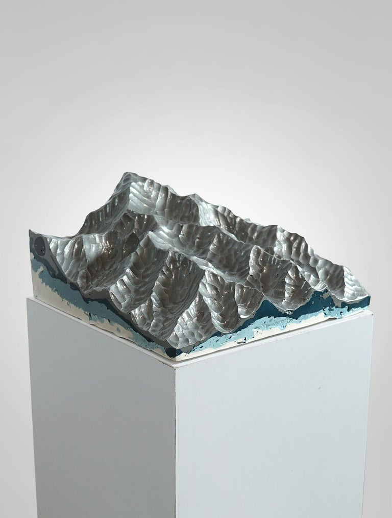 Iron Mountains - Contemporary Wall sculpture - by Eduard Locota For Sale 2