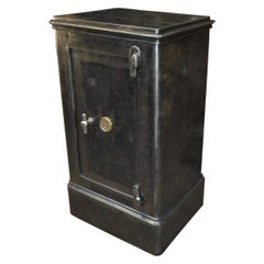 Iron Safe Cabinet by Gruson France with Many Keys, circa 1920