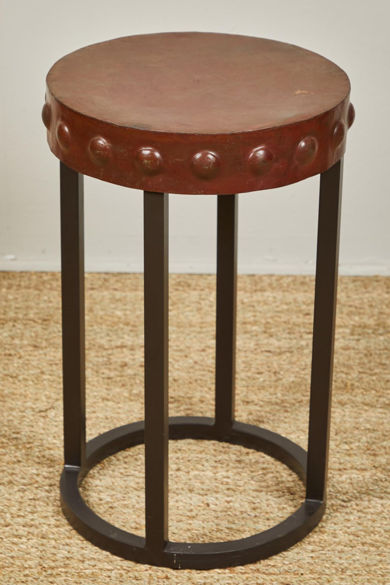 Iron Side Tables, Two For Sale 1