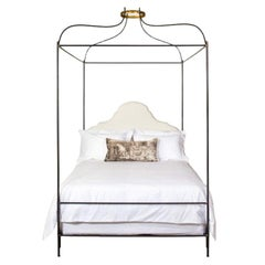 Queen Iron Venetian Canopy Bed