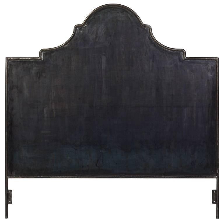 American Iron Venetian Headboard, Queen For Sale