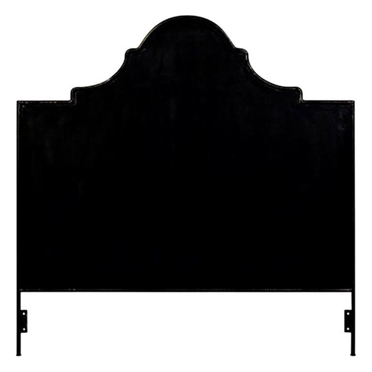 Iron Venetian Headboard, Queen For Sale