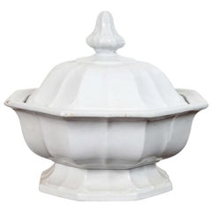 Ironstone Footed Tureen with Cover
