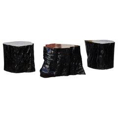 Ironwood Pedestals by Studio Glustin