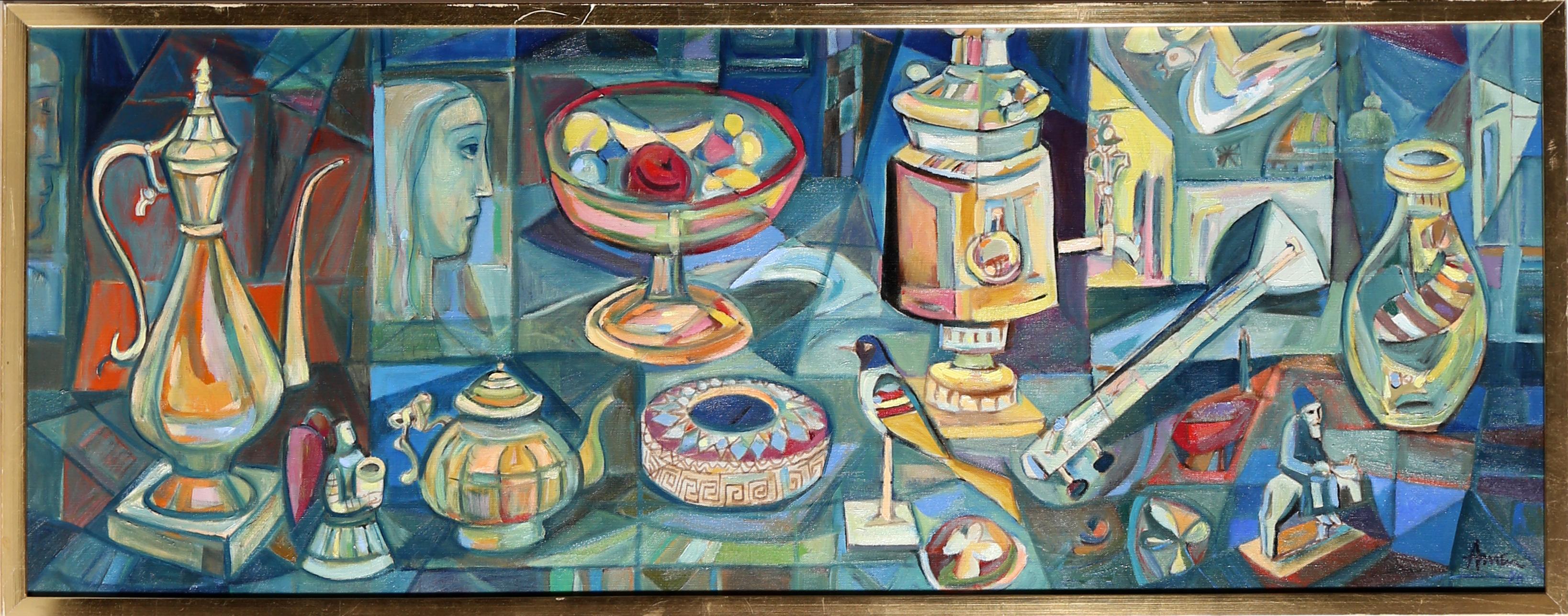 Objet d'Art, 1978, Painting by Irving Amen