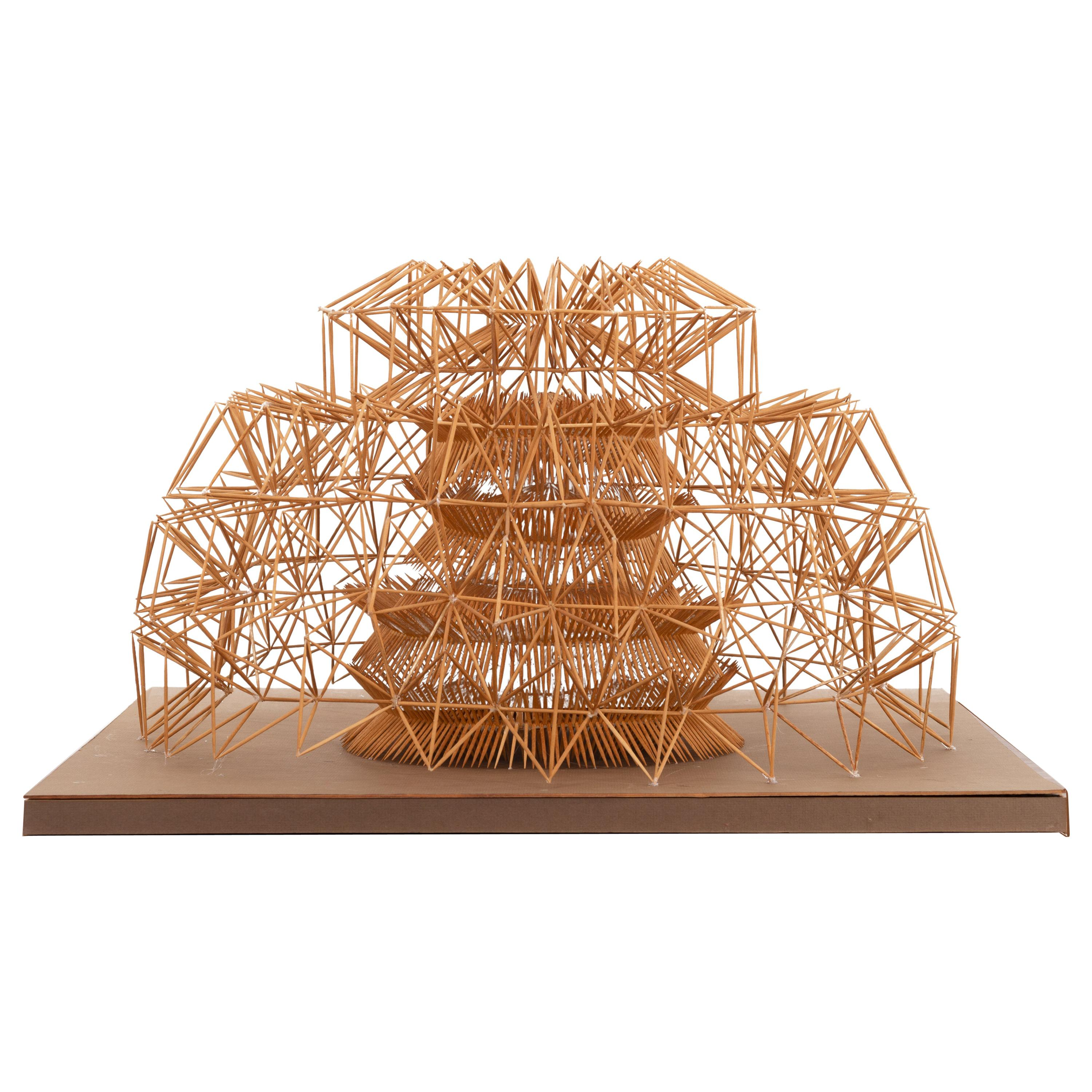 Irving Harper Toothpick Construction Dome