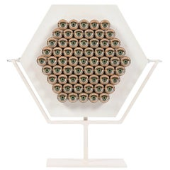 "Irving Harper ""Untitled"" Moving Doll Eye Sculpture"