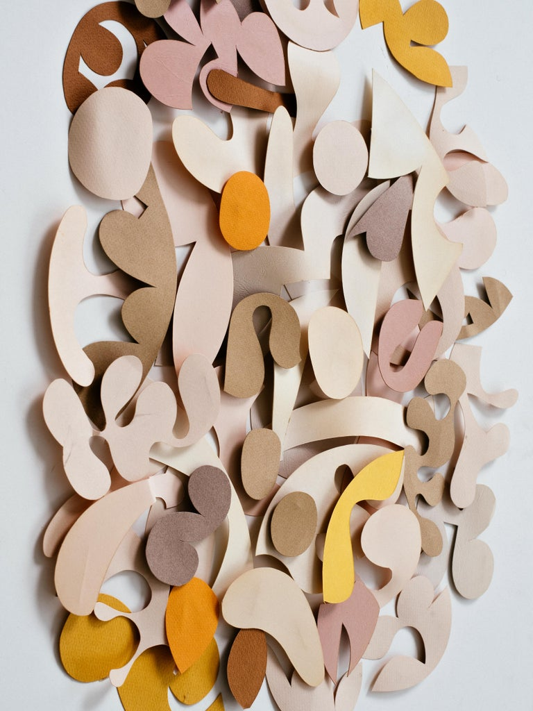 American Irving Harper Untitled Paper Relief Wall Sculpture For Sale