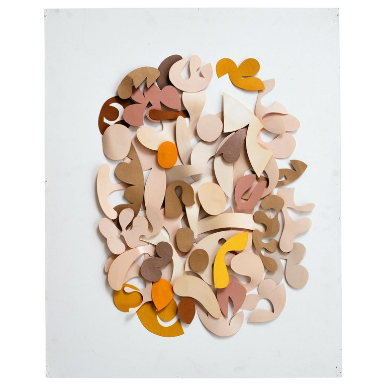 Irving Harper Untitled Paper Relief Wall Sculpture For Sale