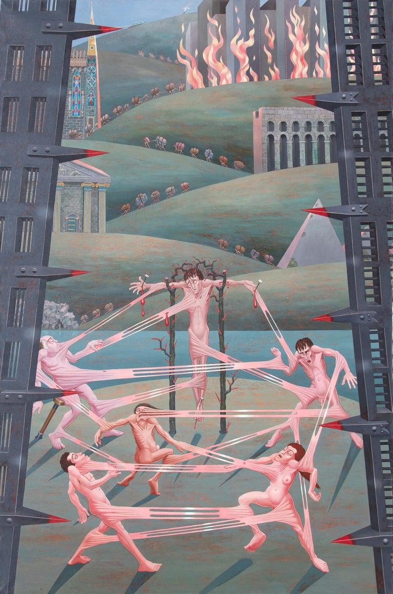 Irving Norman Landscape Painting - Interrelations