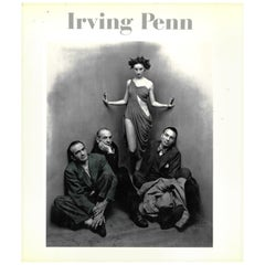 """IRVING PENN"" Book on American Fashion Photographer"