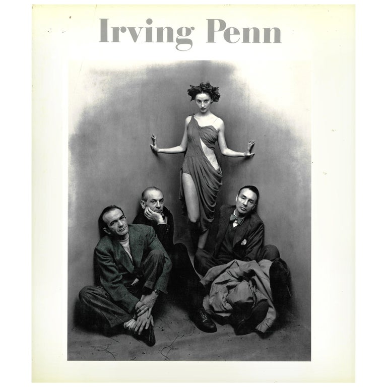 """""""IRVING PENN"""", Book on American Fashion Photographer For Sale"""