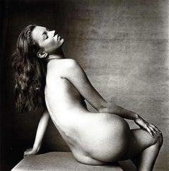 Kate Moss Platinum Photograph