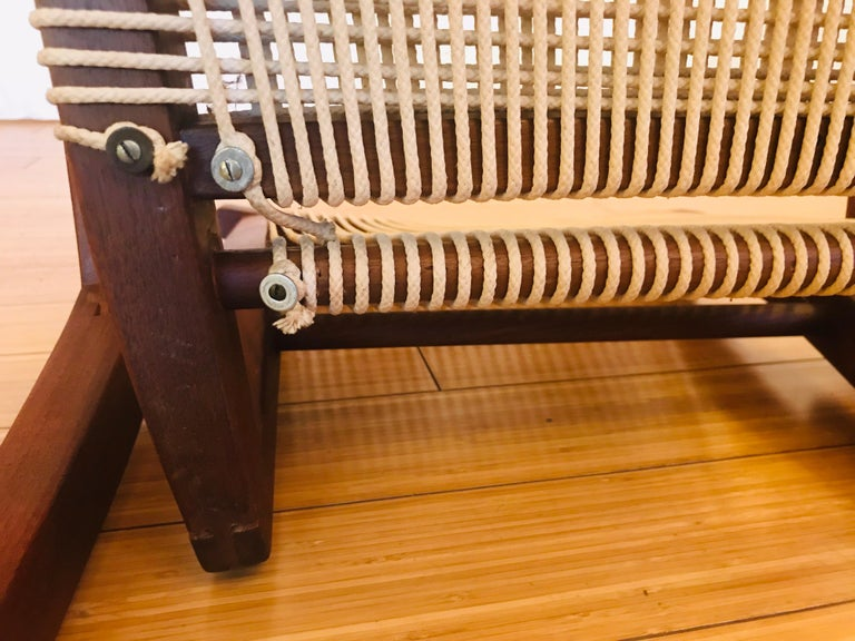 Irving Sabo Studio Crafted Wood Chairs, 20th Century For Sale 2
