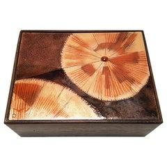 Irwin Whitaker Abstract Enameled Trinket Box