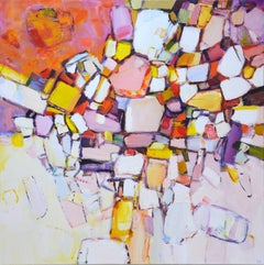 Autumn colors., Painting, Acrylic on Canvas