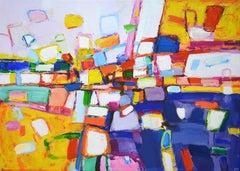 Bright mood, Painting, Acrylic on Canvas