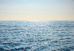 Calm ocean, Painting, Acrylic on Canvas