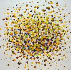 Golden autumn., Painting, Acrylic on Canvas