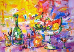 Happy Holidays!, Painting, Acrylic on Canvas