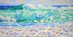 Ocean. Waves., Painting, Oil on Canvas