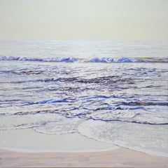 Sounds of morning waves, Painting, Acrylic on Canvas