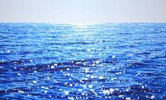 Tender sea., Painting, Acrylic on Canvas