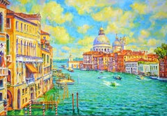 Venice, Painting, Oil on Canvas