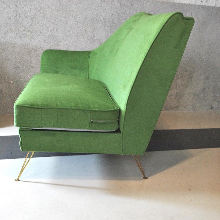 ISA Bergamo Corner Sofa from the 1950s For Sale 6