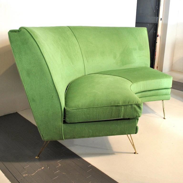 ISA Bergamo Corner Sofa from the 1950s For Sale 7