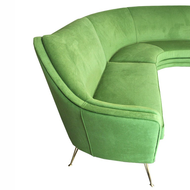 ISA Bergamo Corner Sofa from the 1950s For Sale 1