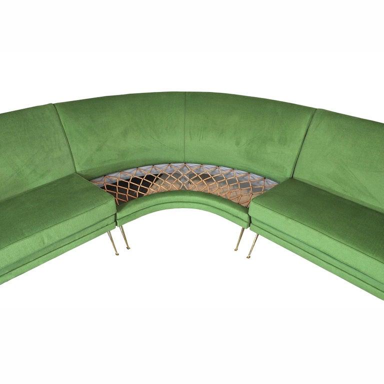 ISA Bergamo Corner Sofa from the 1950s For Sale 2