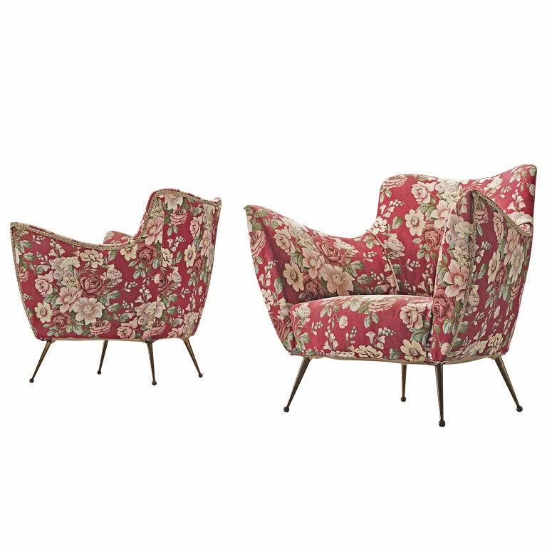 ISA Bergamo Lounge Chairs For Sale