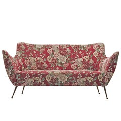 ISA Bergamo Sofa in Floral Fabric