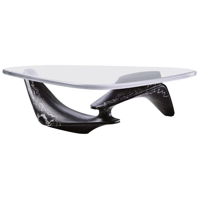 Ora Ito for DeWahl & Wilcox marble coffee table, New